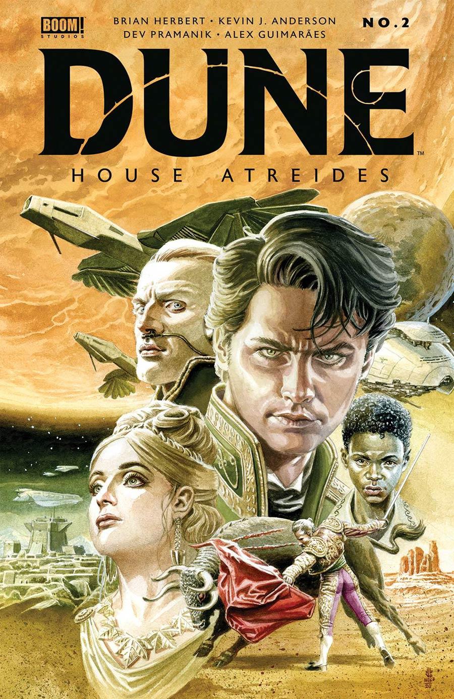 Dune House Atreides #2 Cover E LCSD 2020 JG Jones Foil Variant Cover
