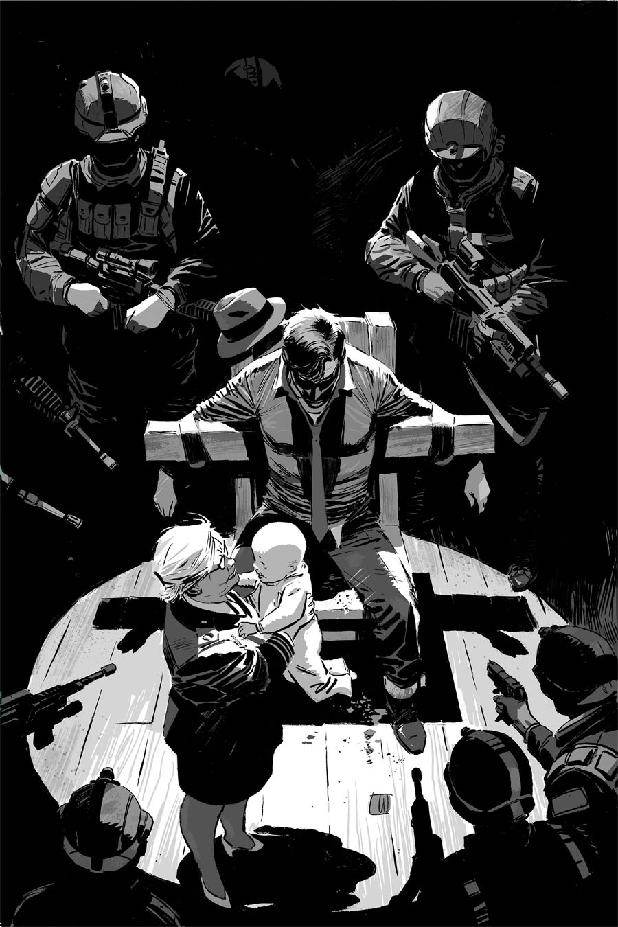 Green Hornet Vol 5 #4 Cover F Limited Edition Lee Weeks Black & White Virgin Premium Variant Cover