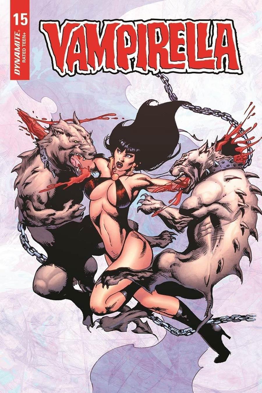 Vampirella Vol 8 #15 Cover F Variant Roberto Castro Cover