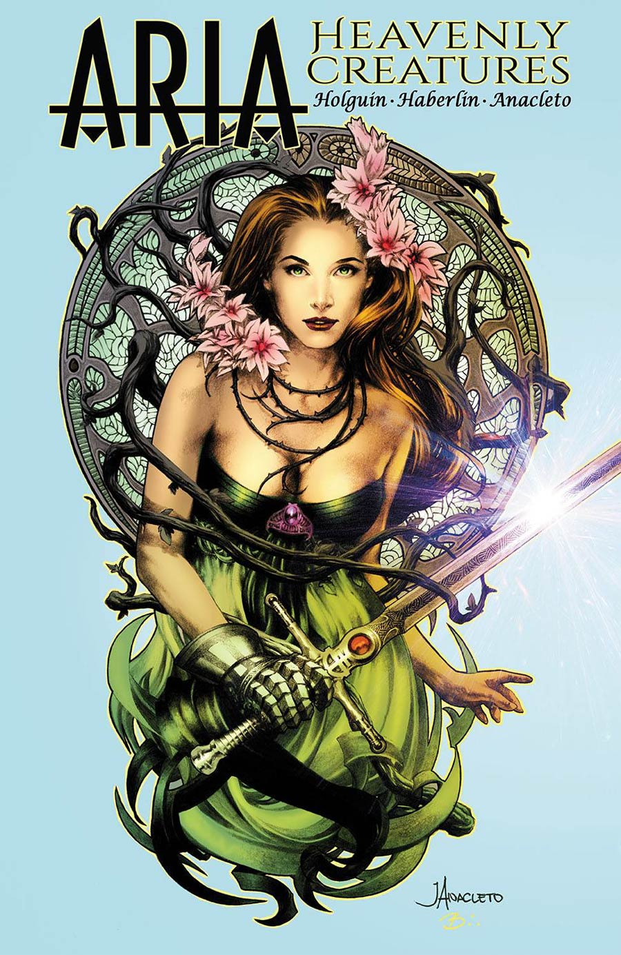 Aria Heavenly Creatures One Shot Cover A Regular Jay Anacleto & Brian Haberlin Cover