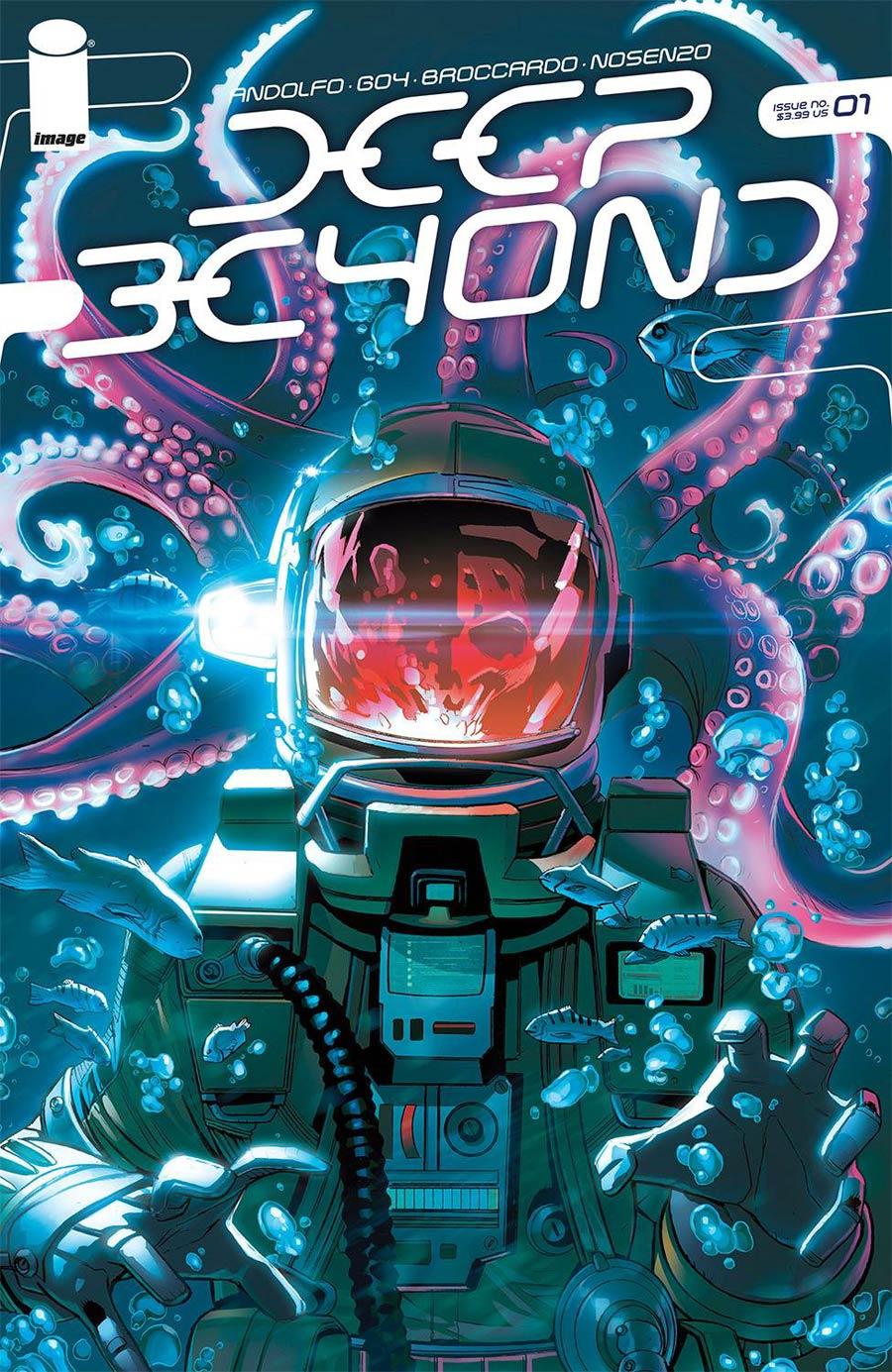 Deep Beyond #1 Cover A Regular Andrea Broccardo Cover