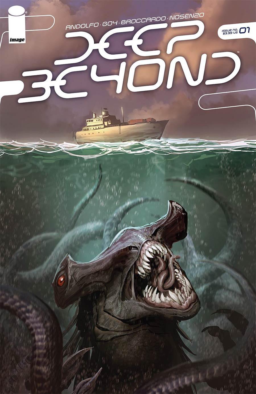 Deep Beyond #1 Cover F Variant Stjepan Sejic Cover