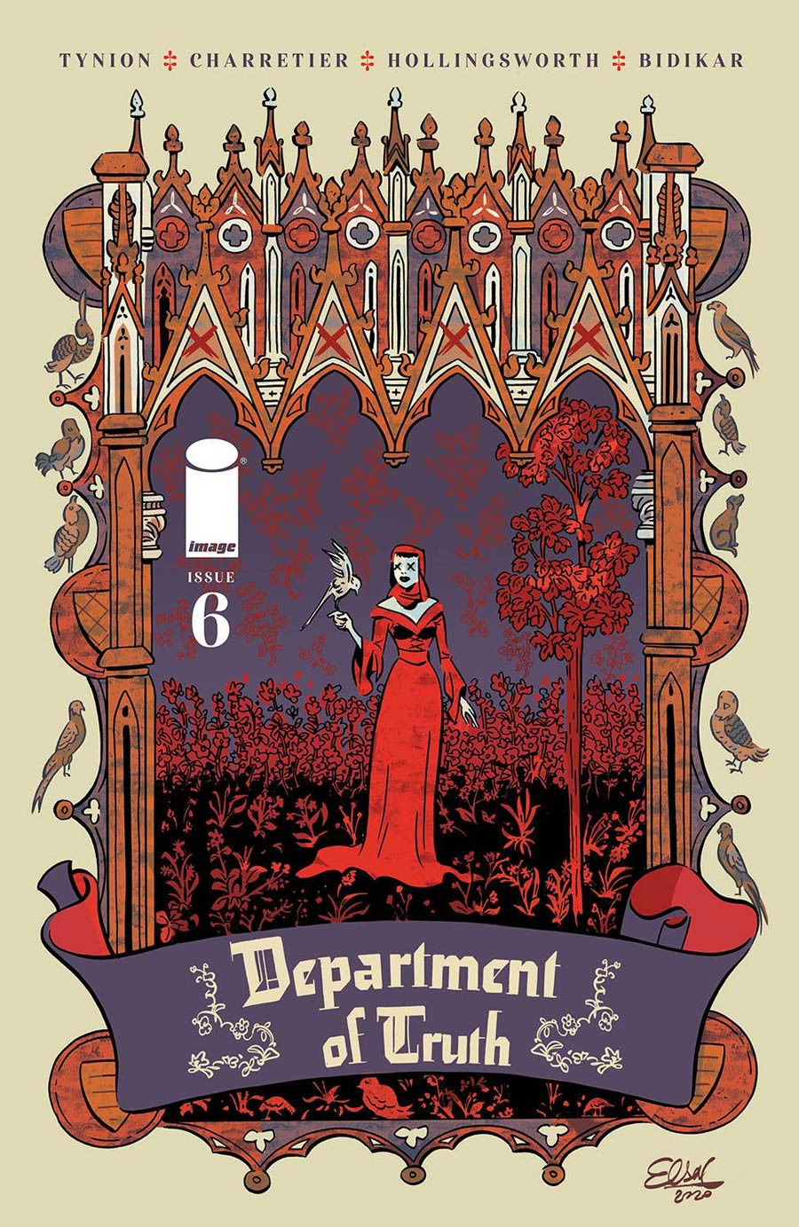Department Of Truth #6 Cover B Variant Elsa Charretier Cover
