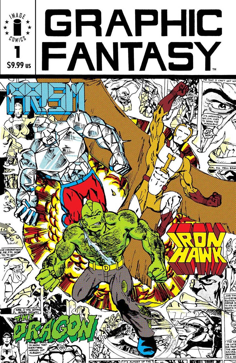 Graphic Fantasy #1 Facsimile Edition