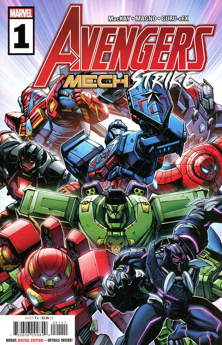 Avengers Mech Strike #1 Cover A Regular Kei Zama Cover