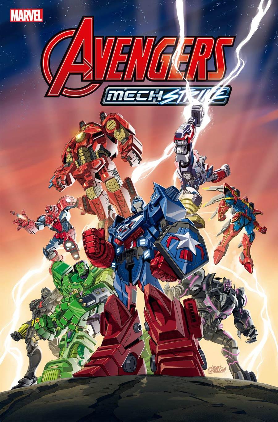 Avengers Mech Strike #1 Cover C Variant Toy Cover