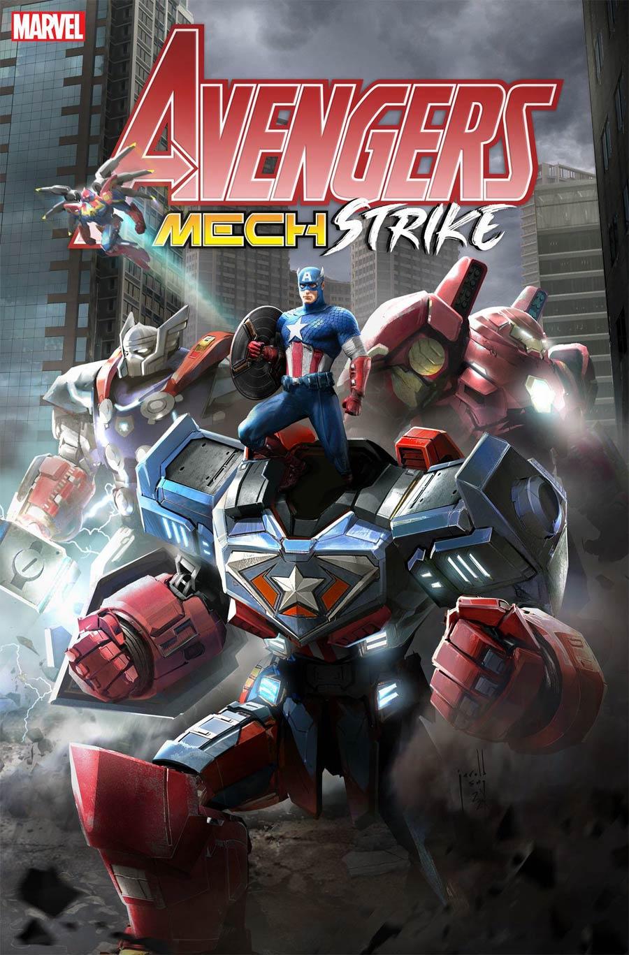 Avengers Mech Strike #1 Cover D Variant Jarold Sng Cover