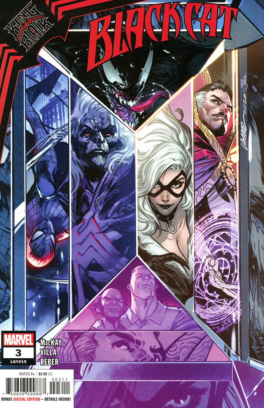 Black Cat Vol 2 #3 Cover A Regular Pepe Larraz Cover (King In Black Tie-In)