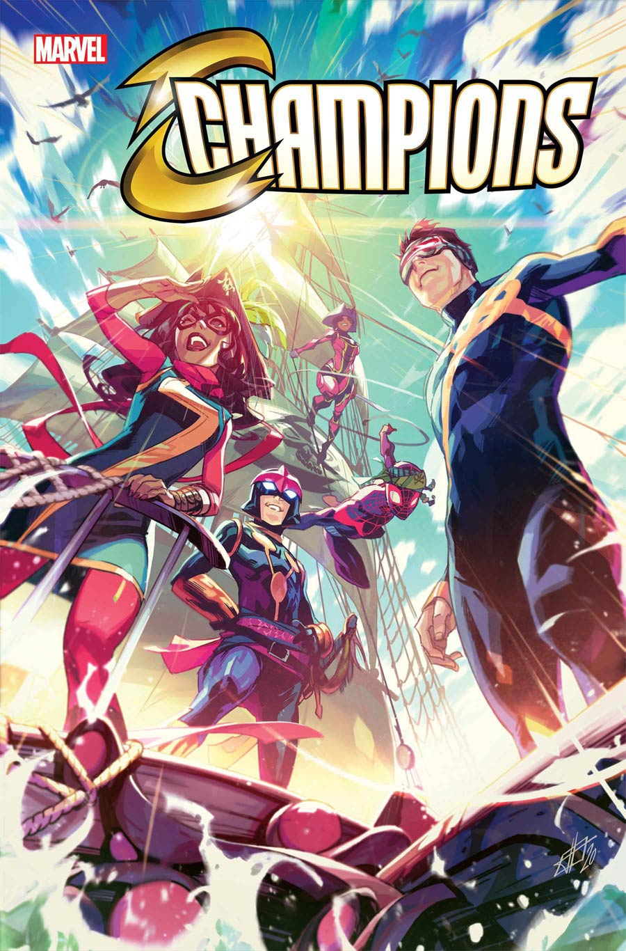 Champions (Marvel) Vol 4 #4 Cover A Regular Toni Infante Cover