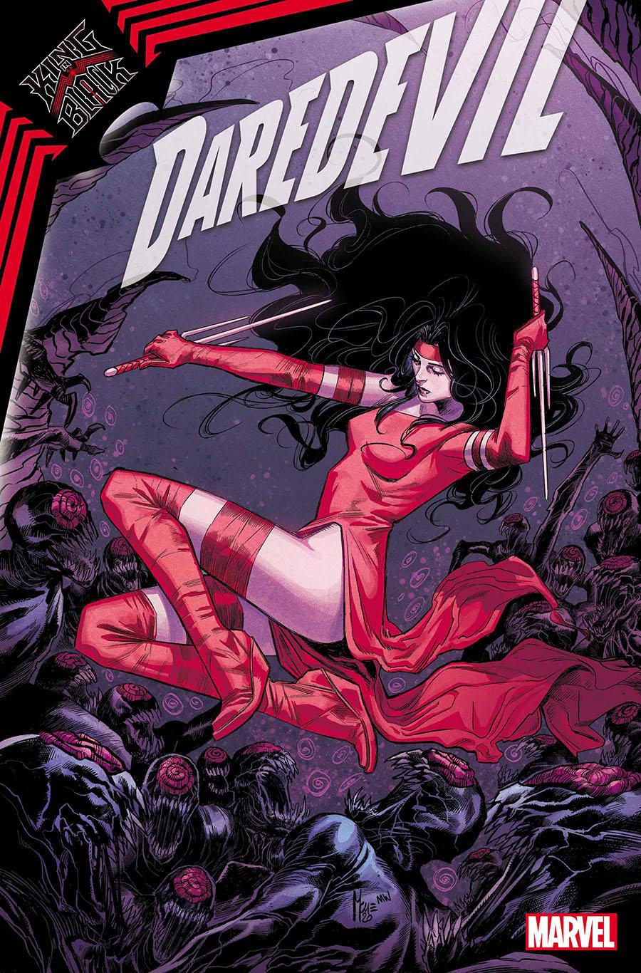 Daredevil Vol 6 #27 Cover A Regular Marco Checchetto Cover (King In Black Tie-In)