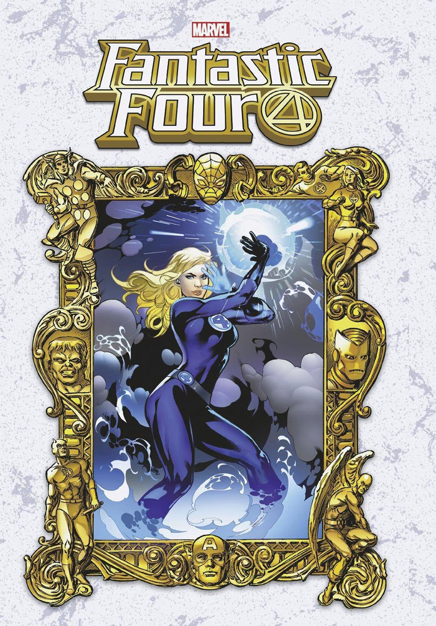 Fantastic Four Vol 6 #29 Cover B Variant Emanuela Lupacchino Masterworks Cover (King In Black Tie-In)