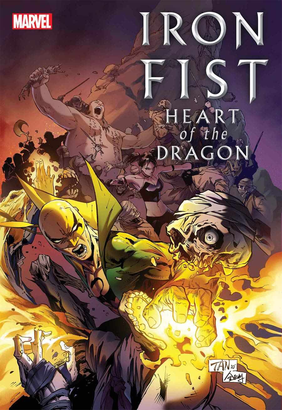 Iron Fist Heart Of The Dragon #2 Cover A Regular Billy Tan Cover