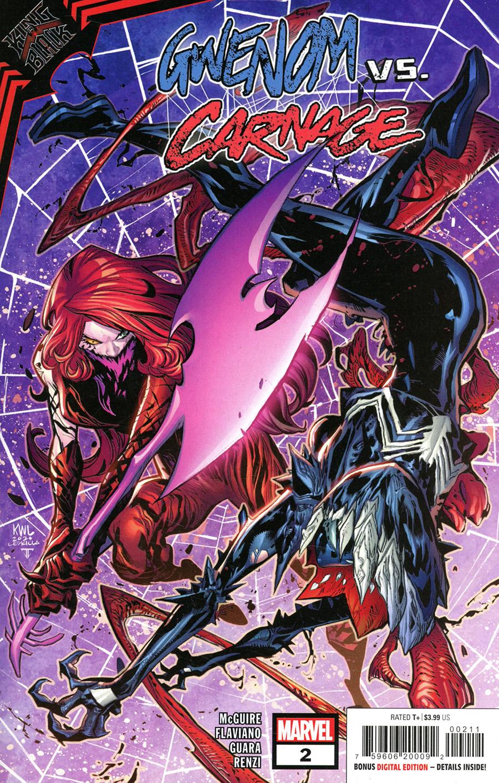 King In Black Gwenom vs Carnage #2 Cover A Regular Ken Lashley Cover (Limit 1 Per Customer)