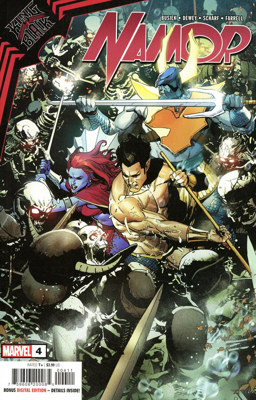 King In Black Namor #4 Cover A Regular Leinil Francis Yu Cover