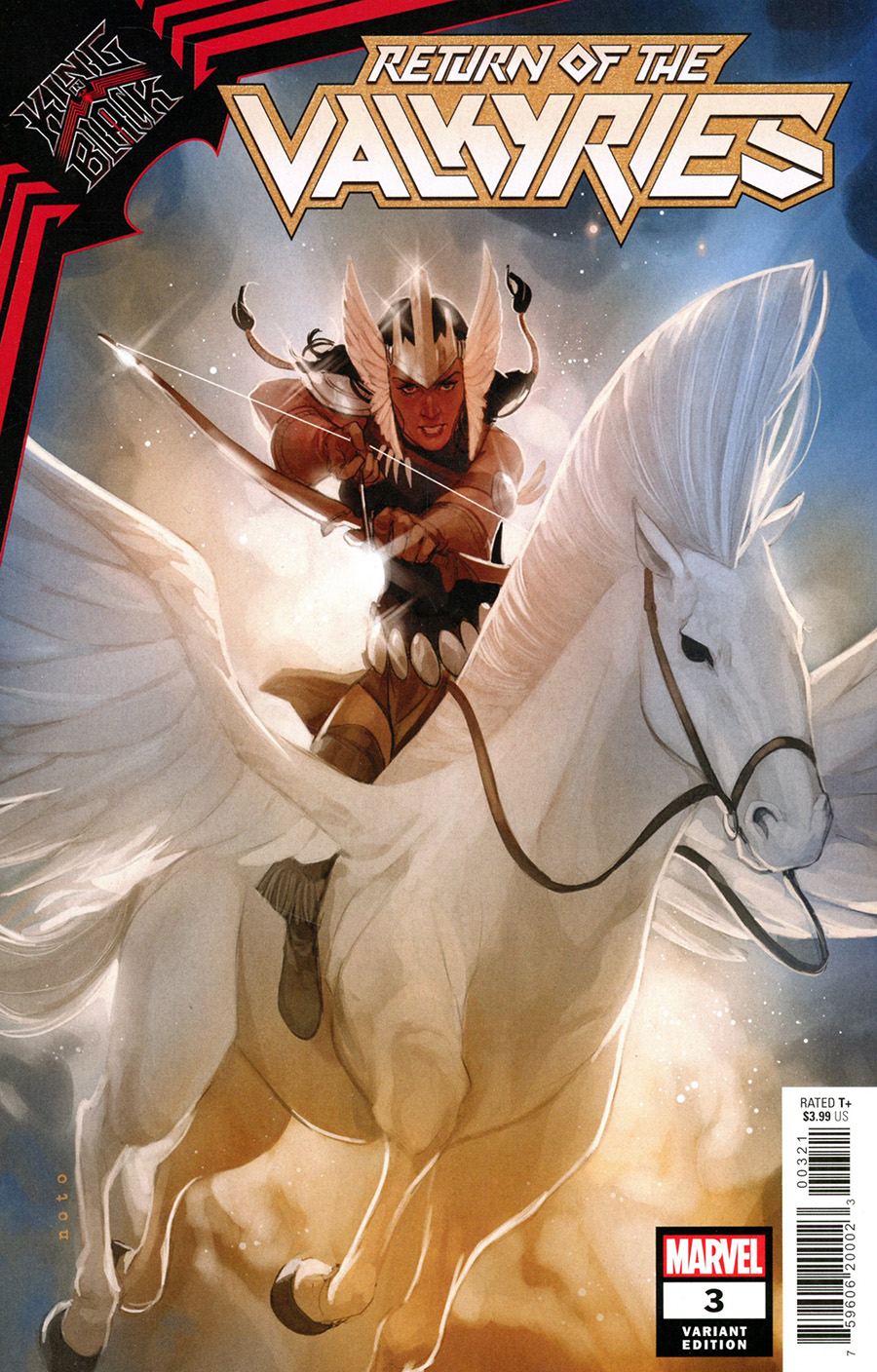 King In Black Return Of The Valkyries #3 Cover C Variant Phil Noto Profile Cover