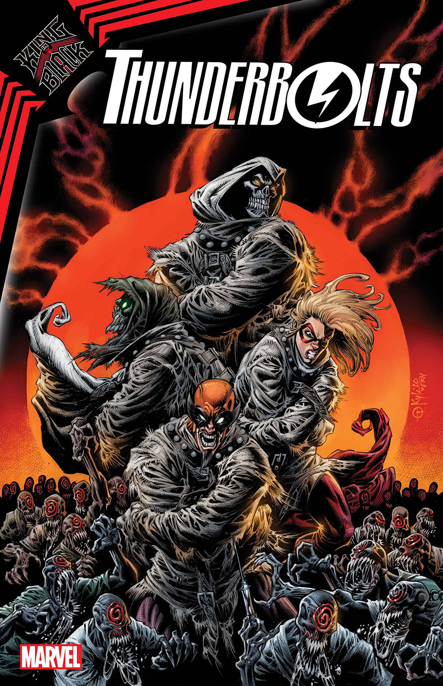 King In Black Thunderbolts #2 Cover A Regular Kyle Hotz Cover
