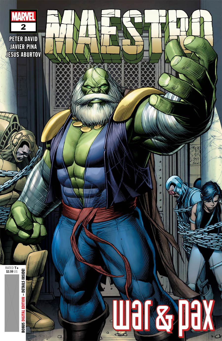 Maestro War And Pax #2 Cover A Regular Dale Keown Cover