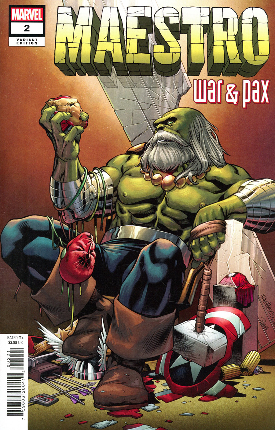 Maestro War And Pax #2 Cover B Variant Carlos Pacheco Cover
