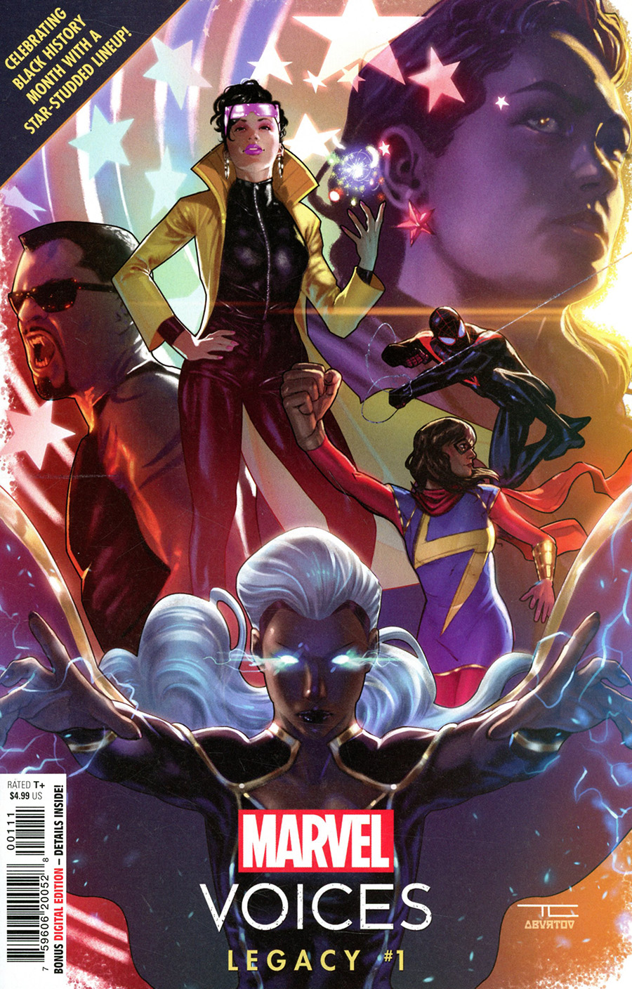 Marvels Voices Legacy One Shot Cover A Regular Taurin Clarke Cover