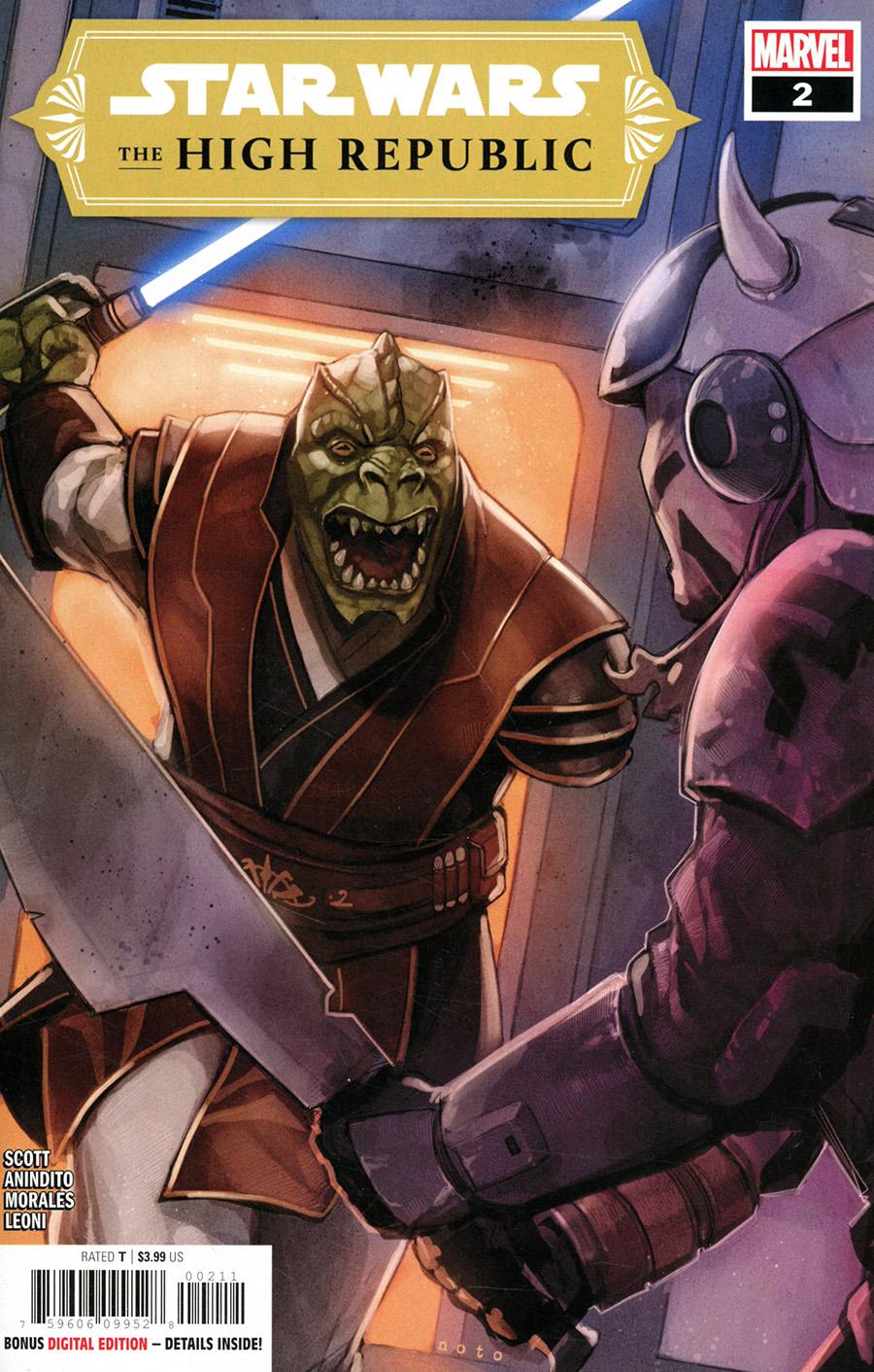 Star Wars High Republic #2 Cover A Regular Phil Noto Cover