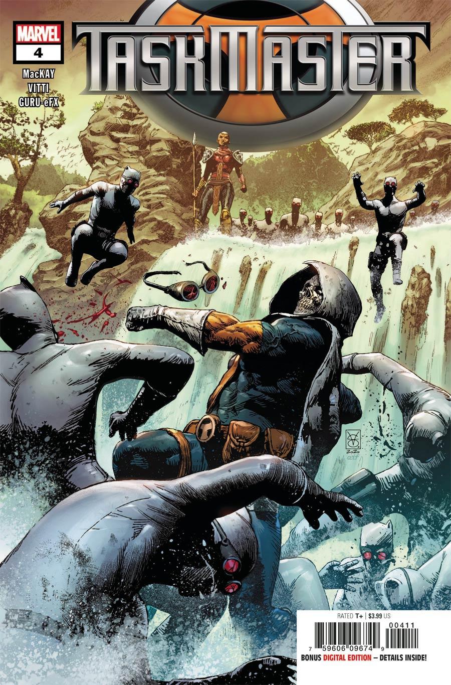 Taskmaster Vol 3 #4 Cover A Regular Valerio Giangiordano Cover