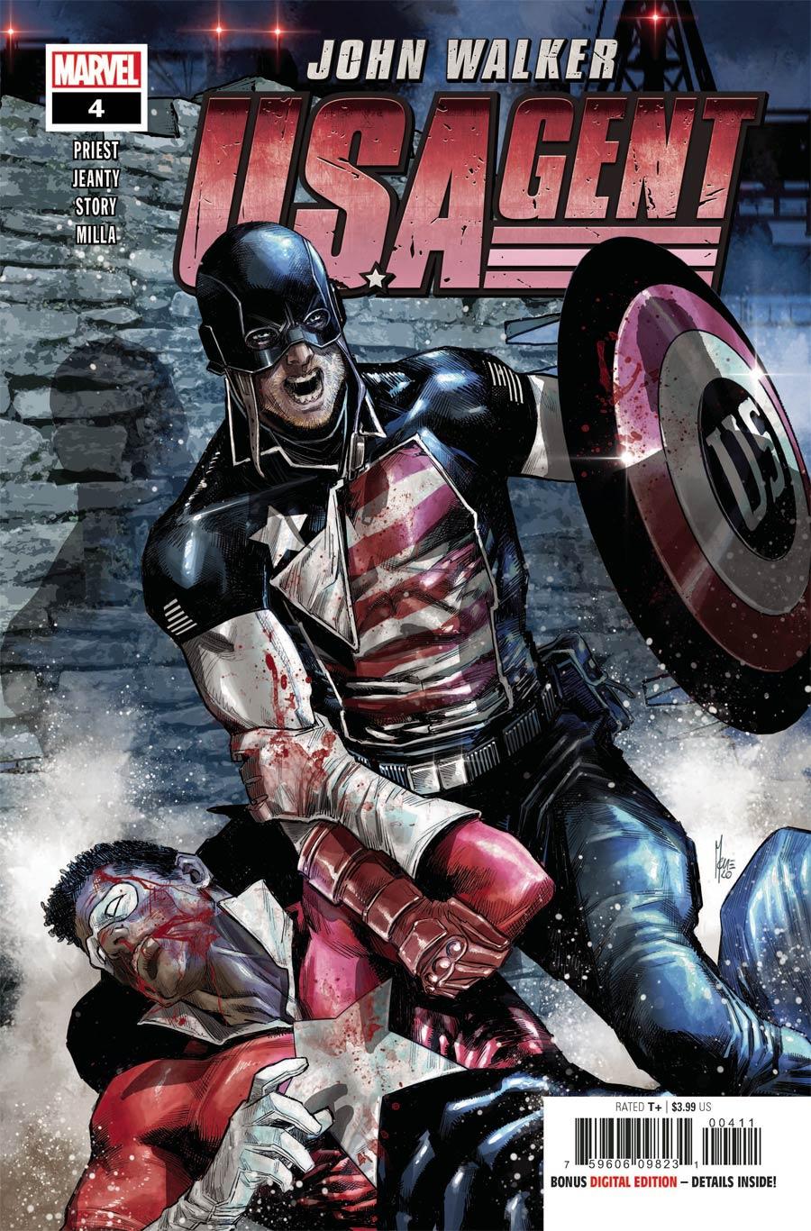 U.S.Agent Vol 3 #4 Cover A Regular Marco Checchetto Cover