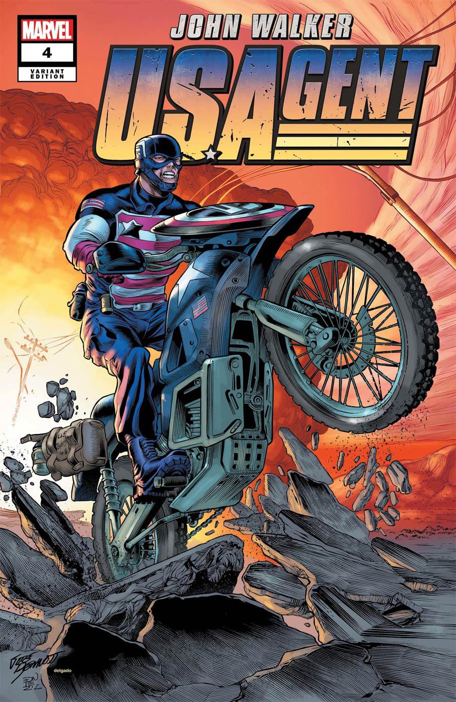 U.S.Agent Vol 3 #4 Cover B Variant Joe Bennett Cover