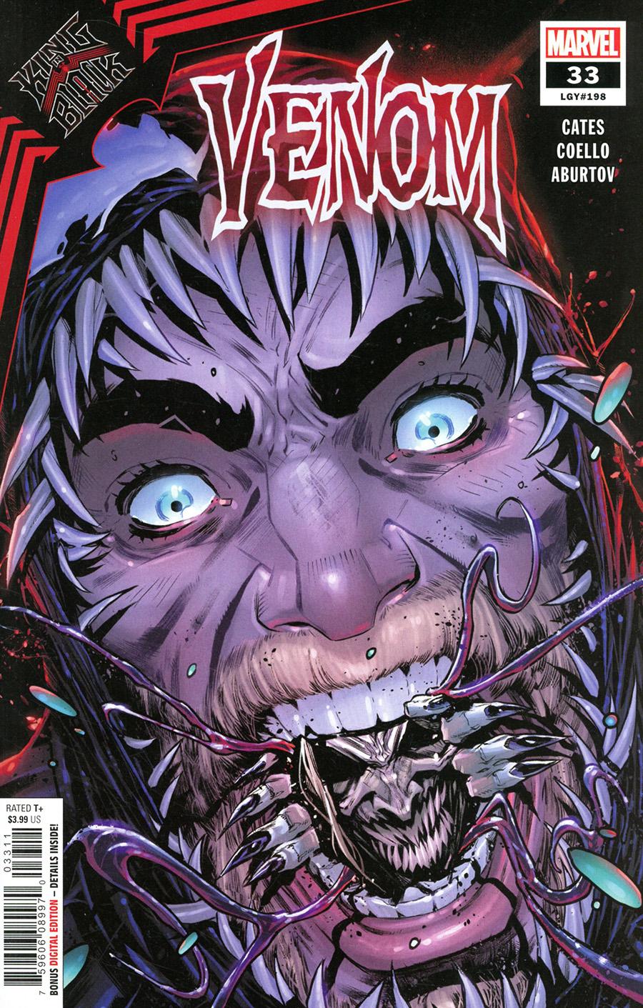 Venom Vol 4 #33 Cover A Regular Iban Coello Cover (King In Black Tie-In)