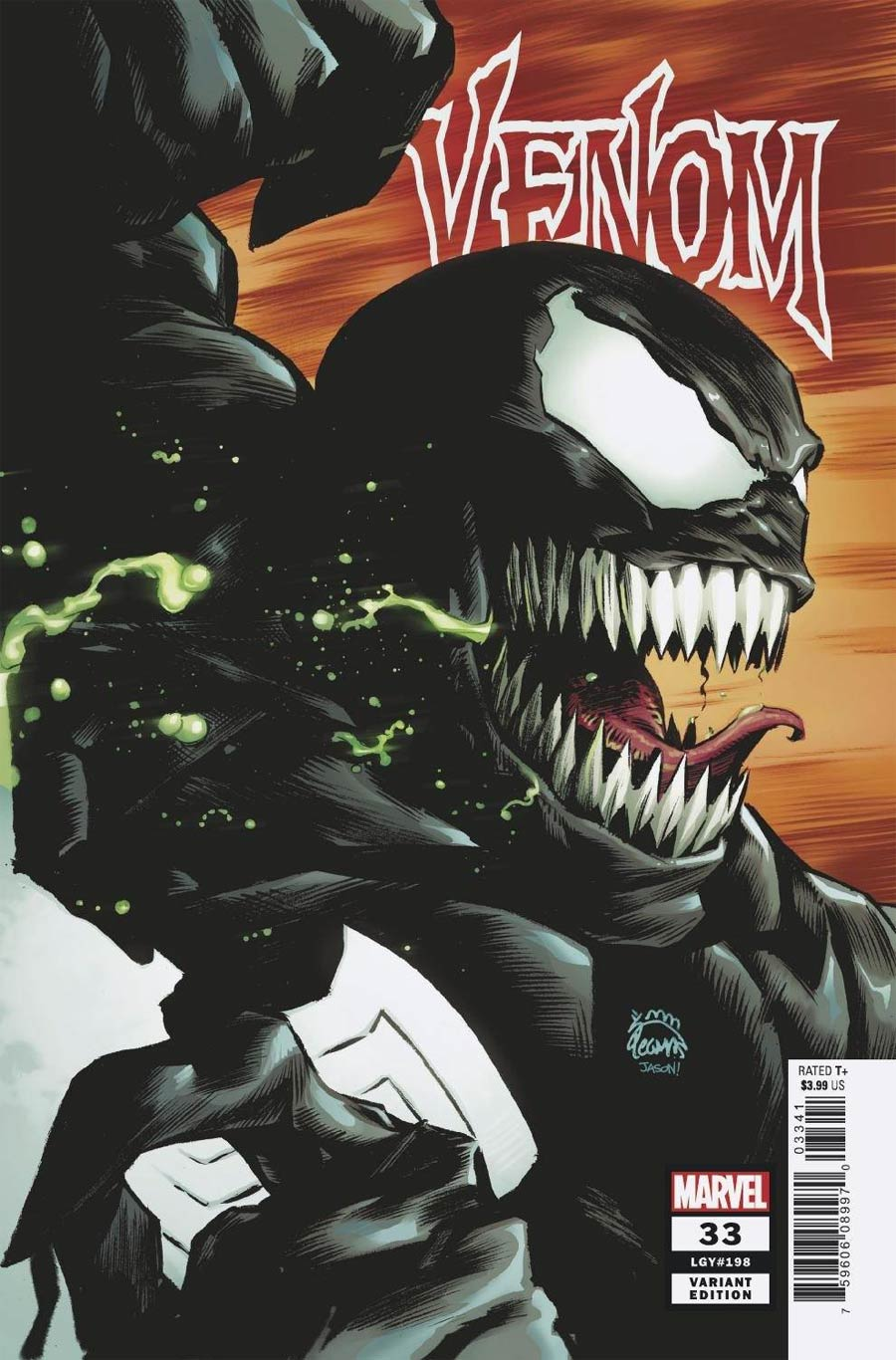 Venom Vol 4 #33 Cover B Variant Ryan Stegman Cover (King In Black Tie-In)