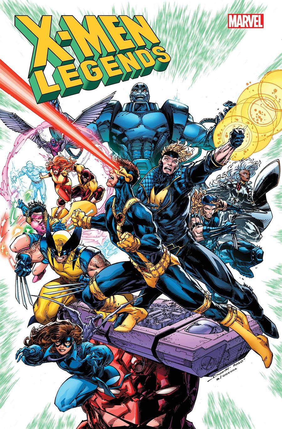 X-Men Legends #1 Cover A Regular Brett Booth Cover