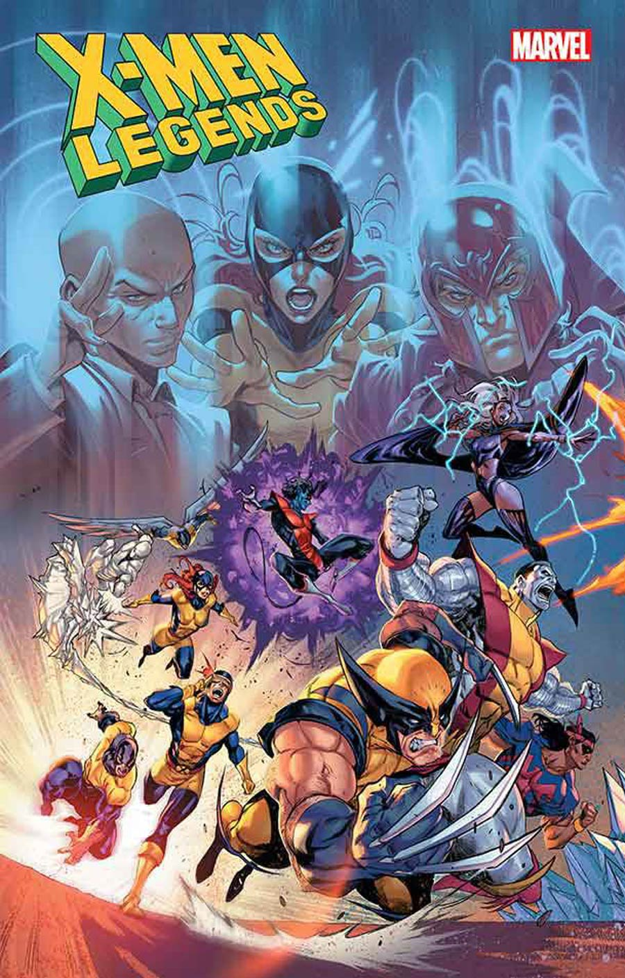 X-Men Legends #1 Cover B Variant Iban Coello Connecting Cover