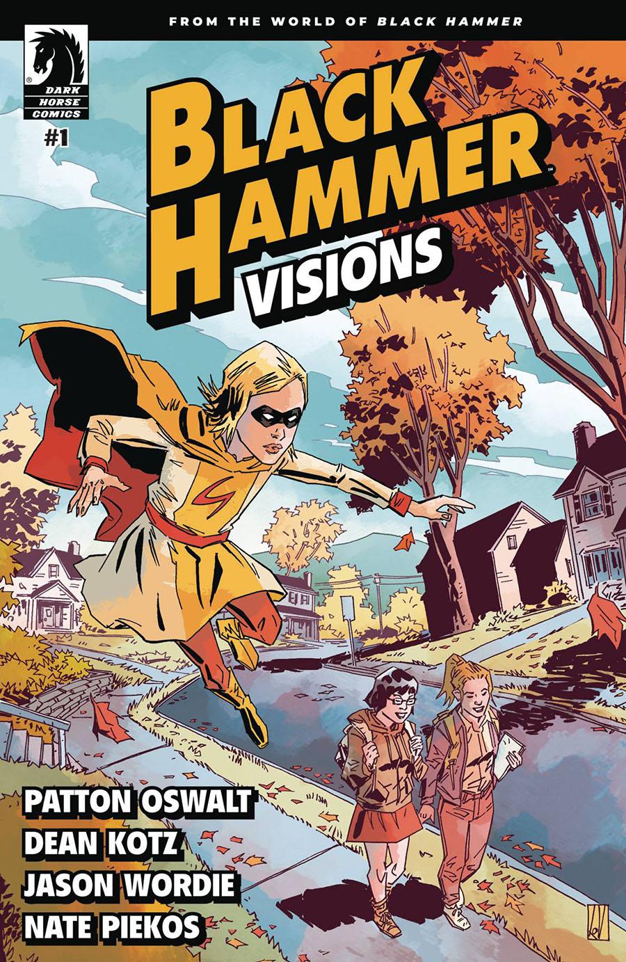 Black Hammer Visions #1 Cover A Regular Dean Kotz Cover