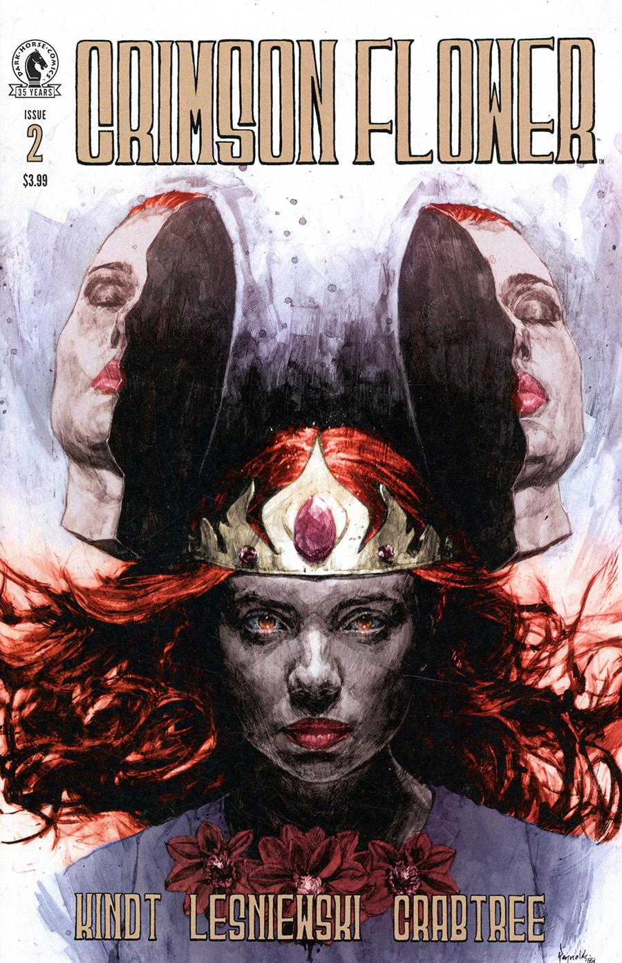 Crimson Flower #2 Cover B Variant Patric Reynolds Cover