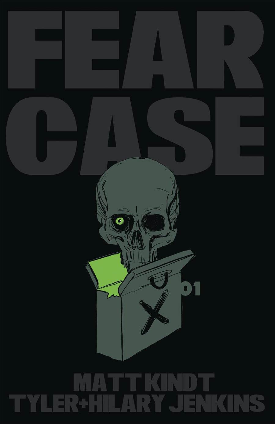 Fear Case #1 Cover A Regular Tyler Jenkins Cover