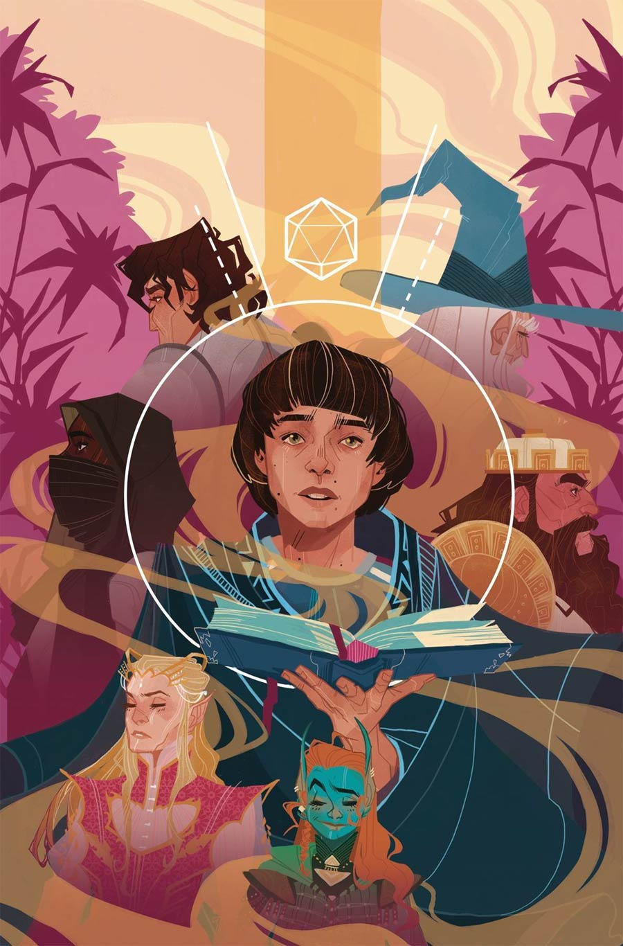 Stranger Things And Dungeons & Dragons #4 Cover C Variant Jess Taylor Cover