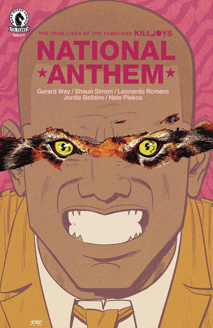 True Lives Of The Fabulous Killjoys National Anthem #5 Cover A Regular Leonardo Romero Cover