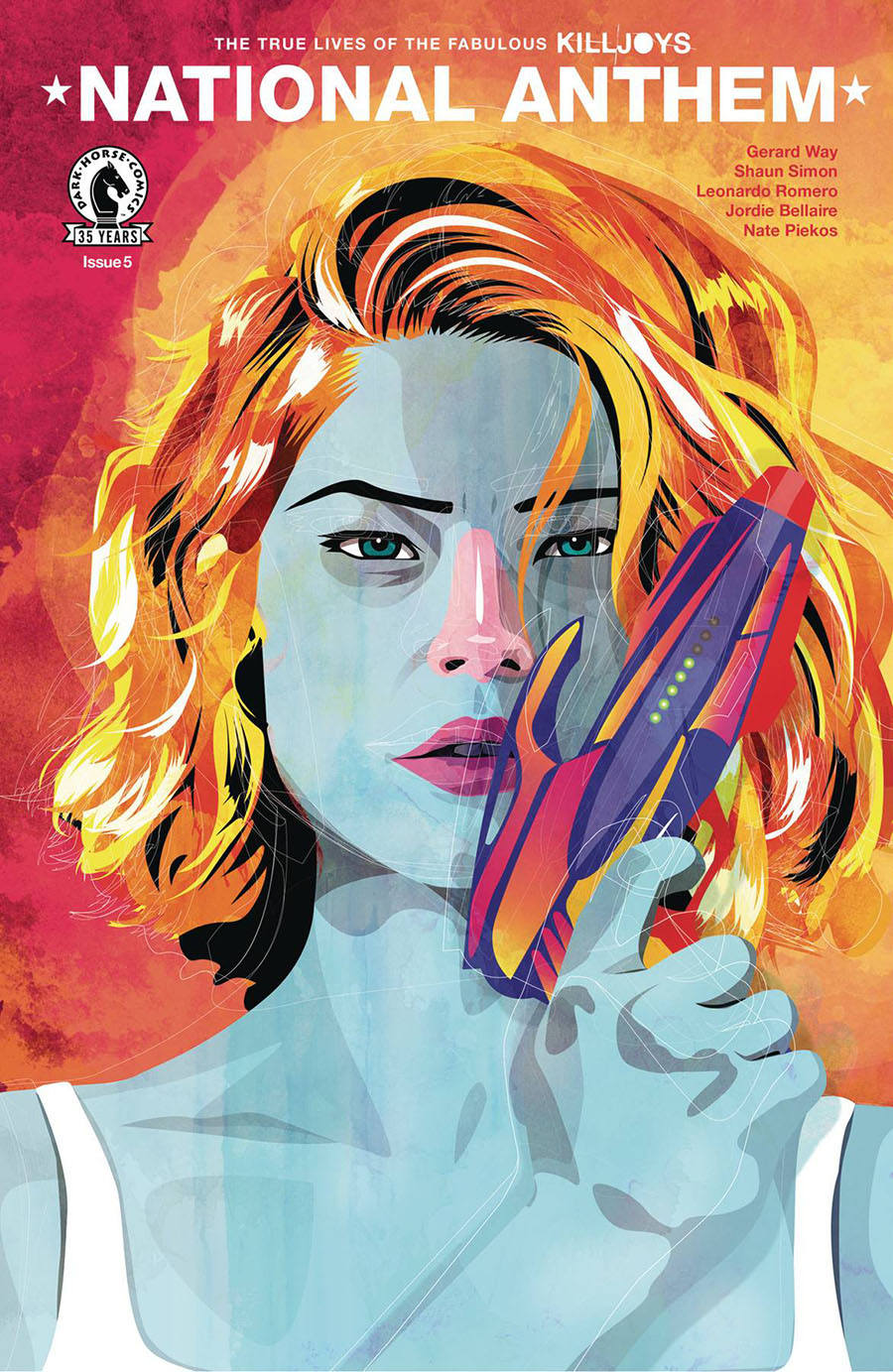 True Lives Of The Fabulous Killjoys National Anthem #5 Cover C Variant Becky Cloonan Cover
