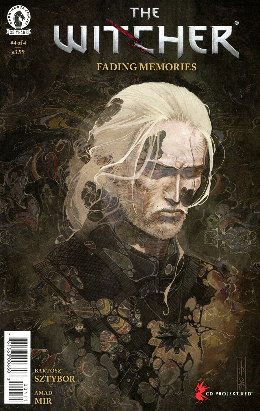 Witcher Fading Memories #4 Cover A Regular Evan Cagle Cover