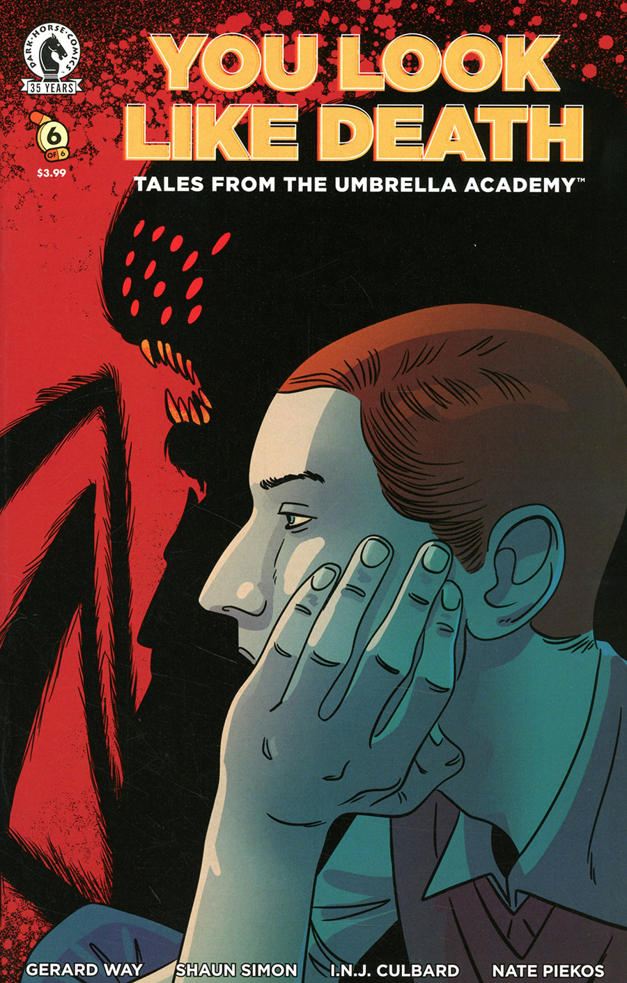 You Look Like Death Tales From The Umbrella Academy #6 Cover B Variant INJ Culbard Cover