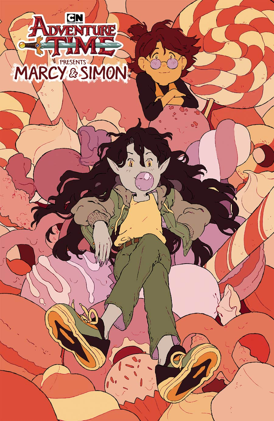 Adventure Time Marcy & Simon #3 Cover D Convention Exclusive Rii Abrego Variant Cover