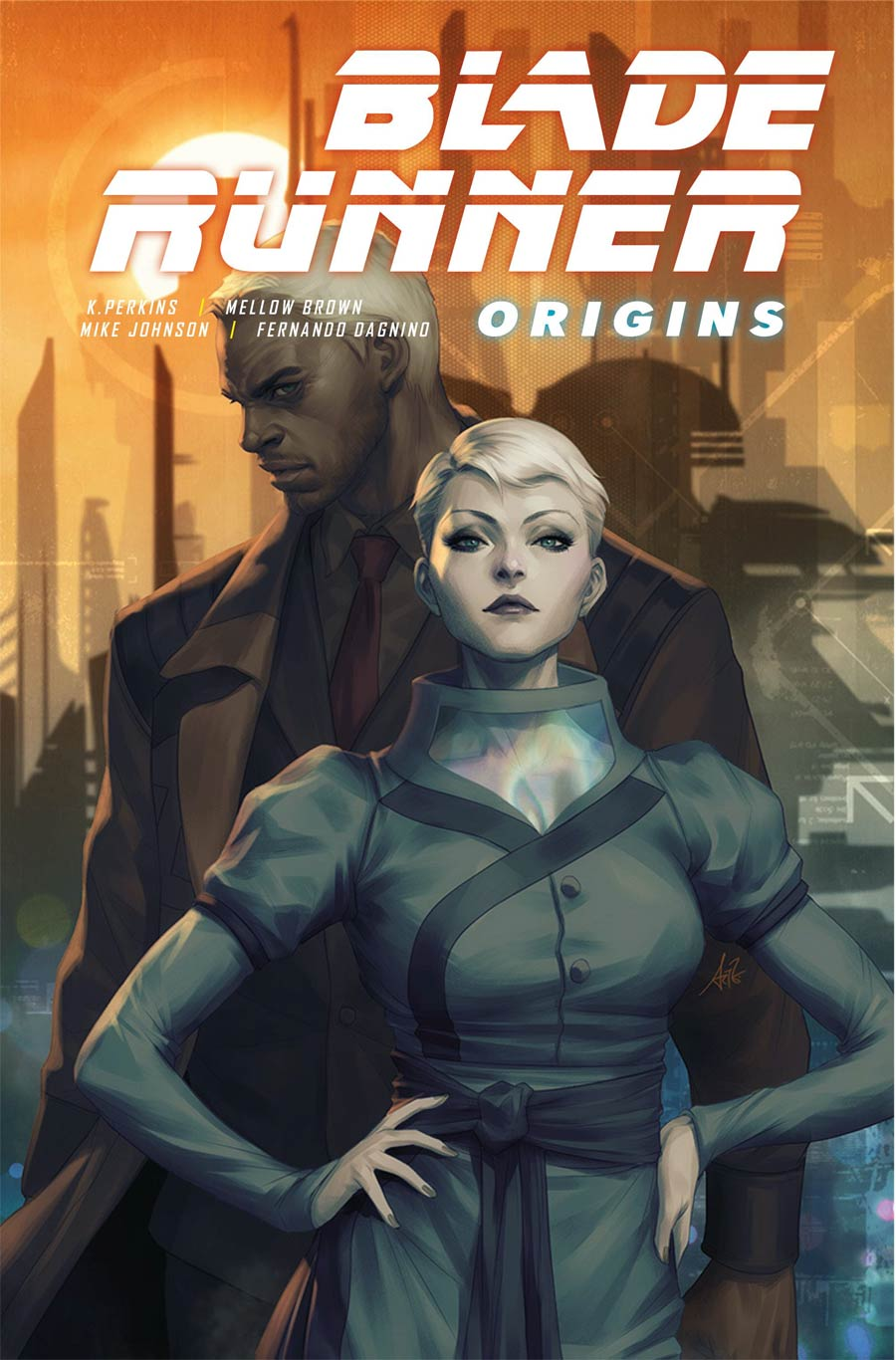 Blade Runner Origins #1 Cover A Regular Stanley Artgerm Lau Cover