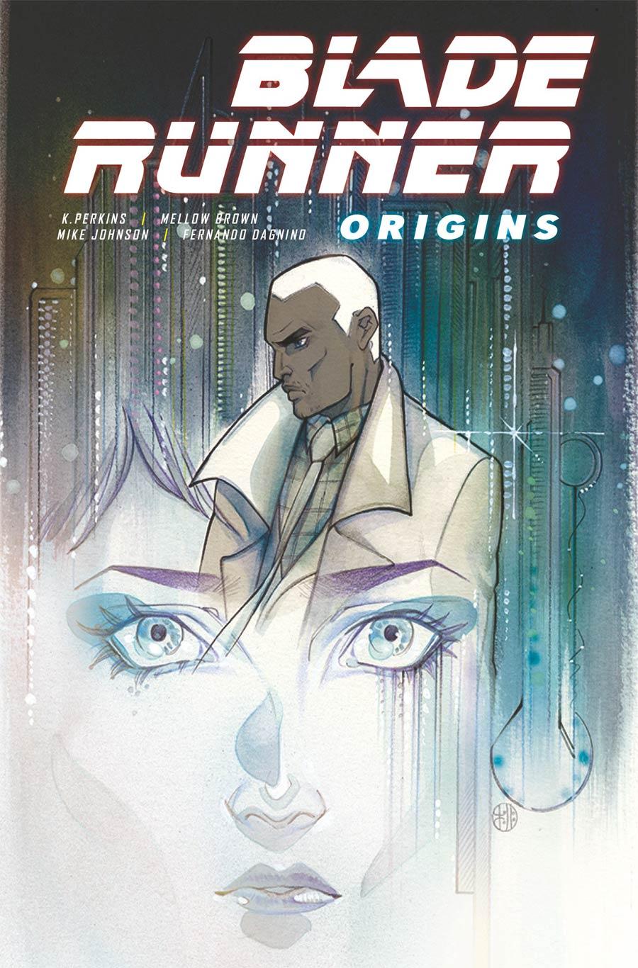 Blade Runner Origins #1 Cover B Variant Peach Momoko Cover