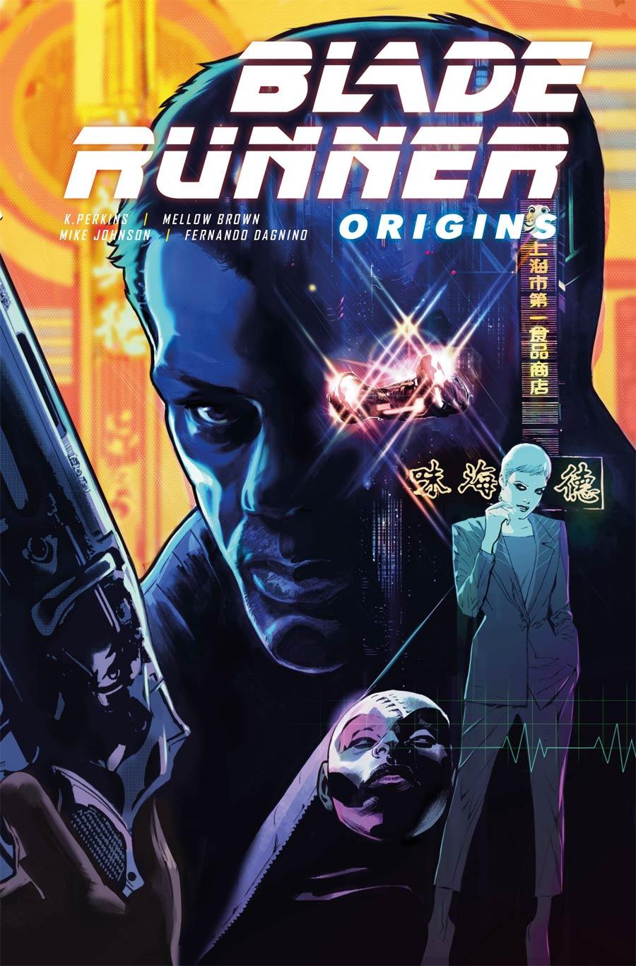 Blade Runner Origins #1 Cover C Variant Fernando Dagnino Cover