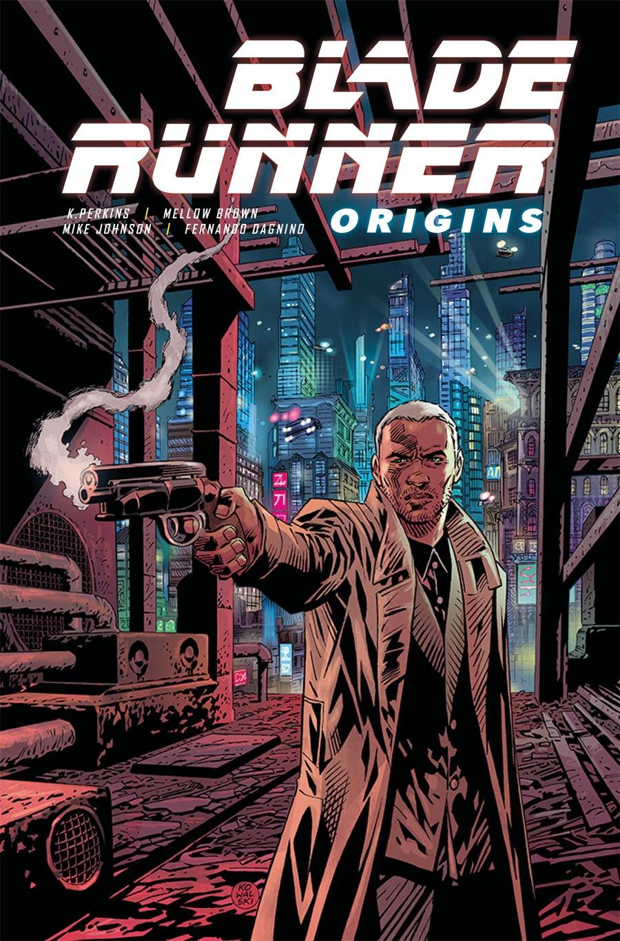 Blade Runner Origins #1 Cover E Variant Piotr Kowalski Cover