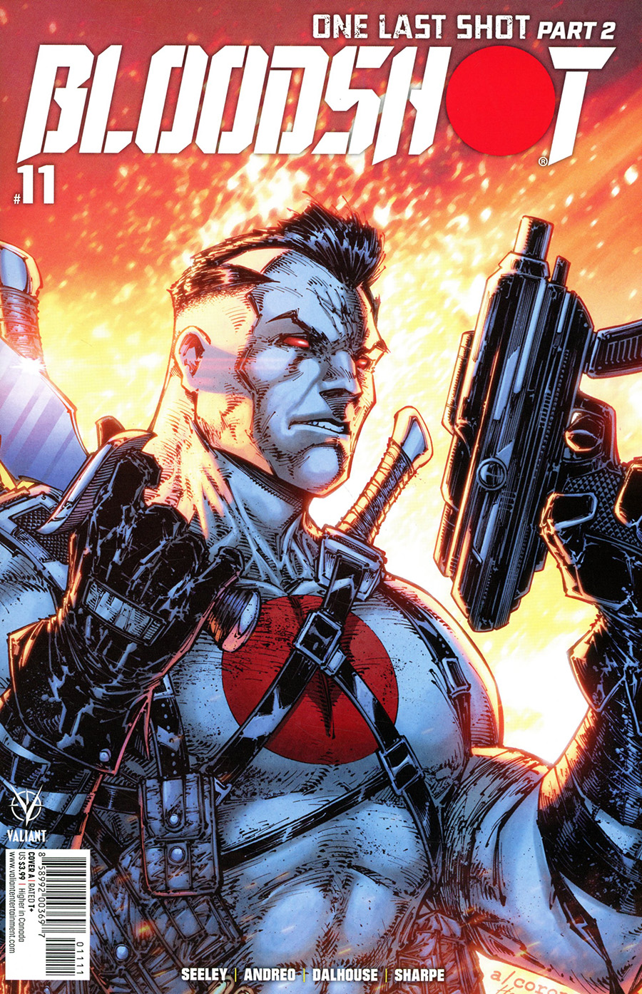 Bloodshot Vol 4 #11 Cover A Regular Adelso Corona Cover