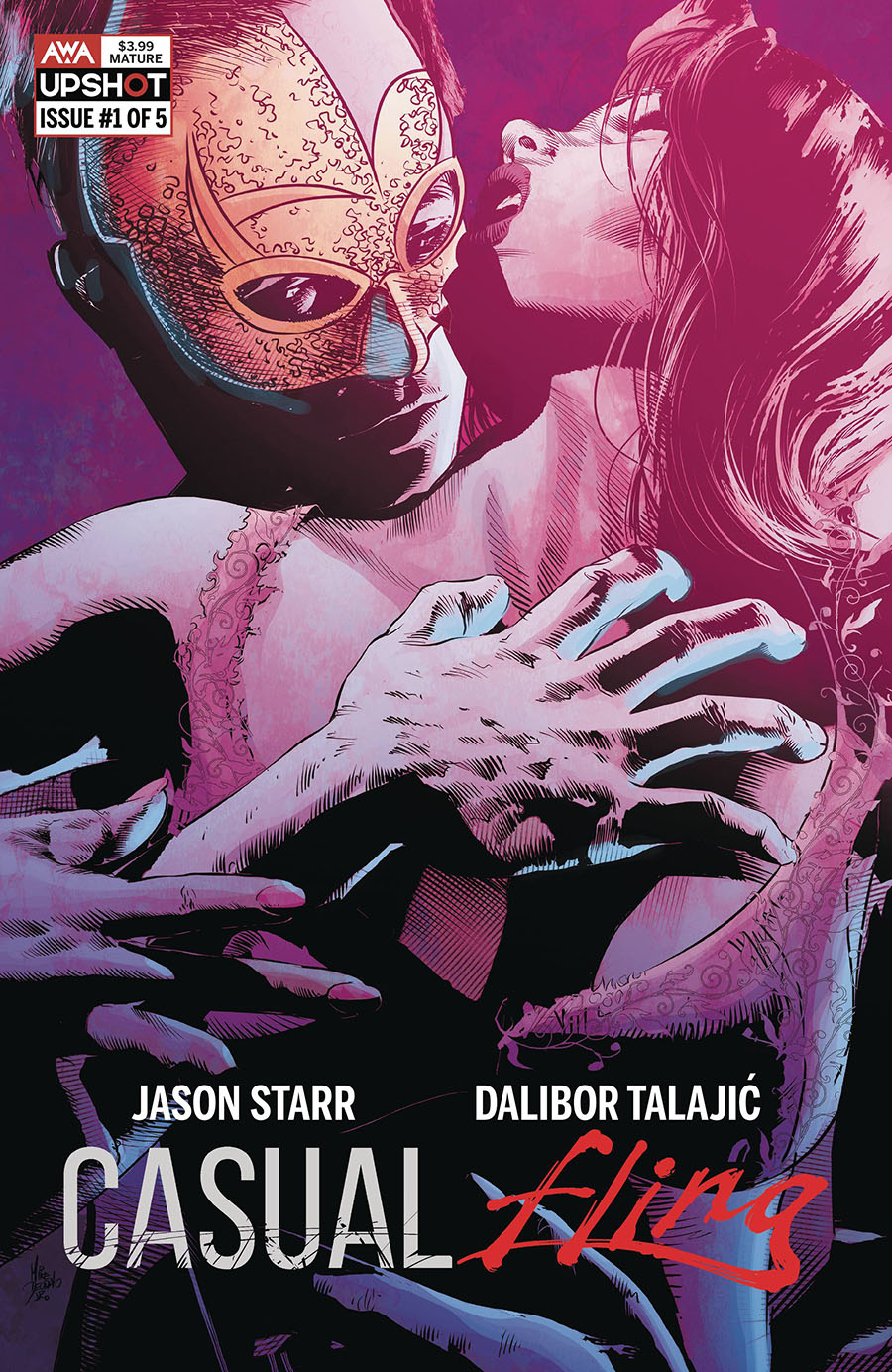 Casual Fling #1 Cover B Variant Mike Deodato Jr Cover