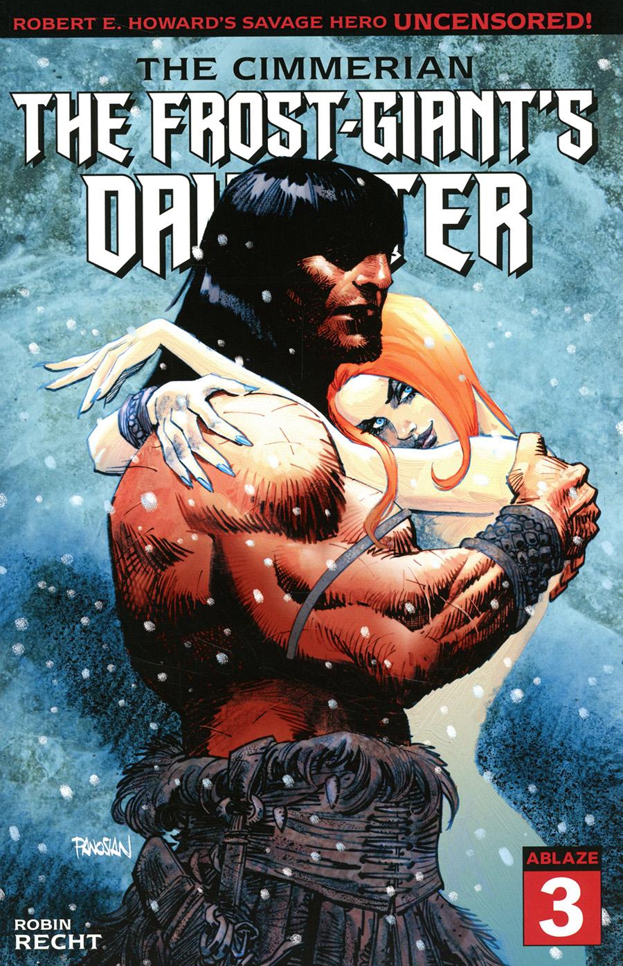 Cimmerian Frost-Giants Daughter #3 Cover A Regular Dan Panosian Cover