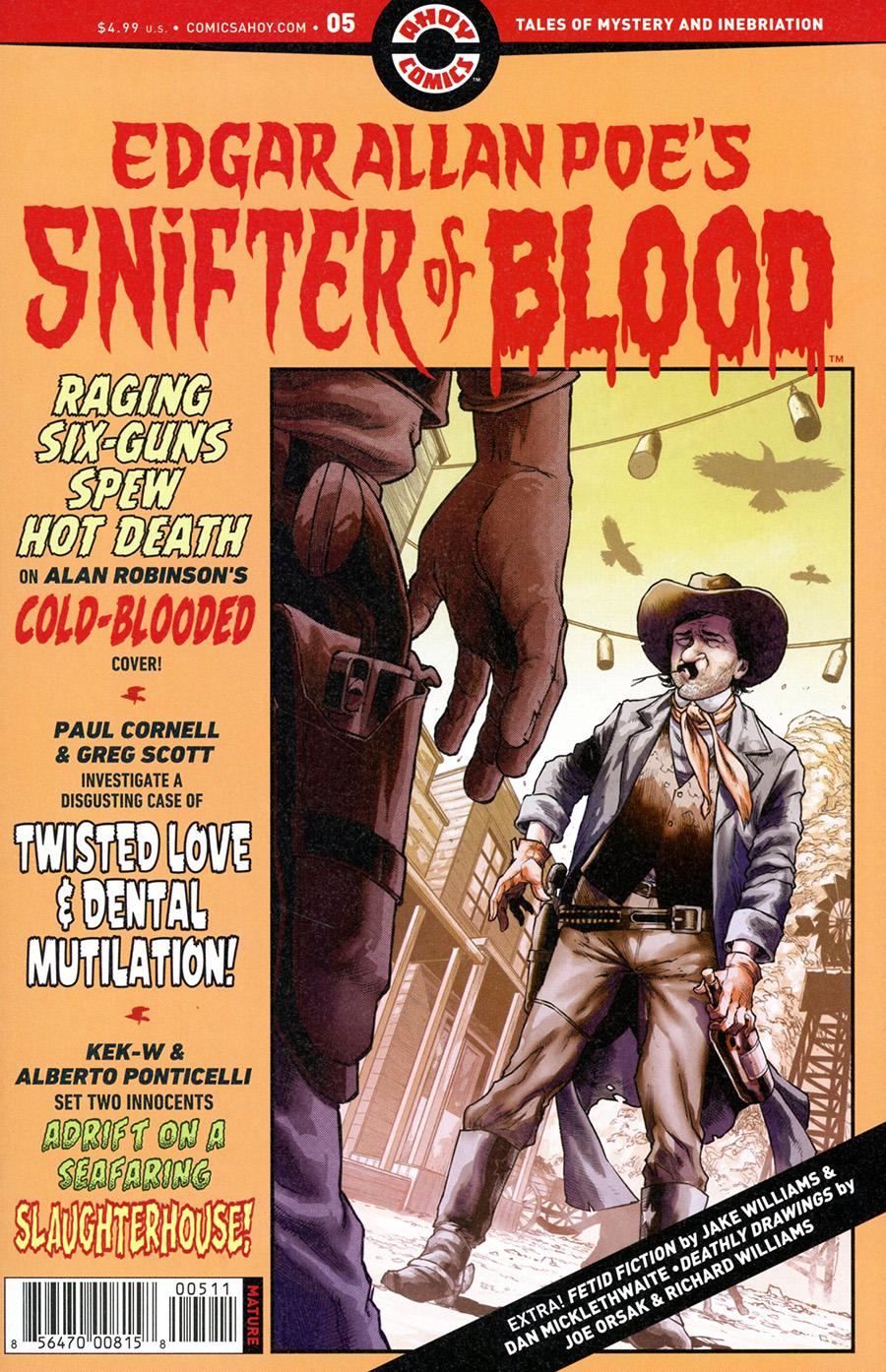 Edgar Allan Poes Snifter Of Blood #5