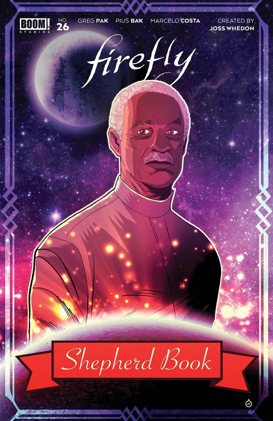 Firefly #26 Cover B Variant Juan Doe Cover
