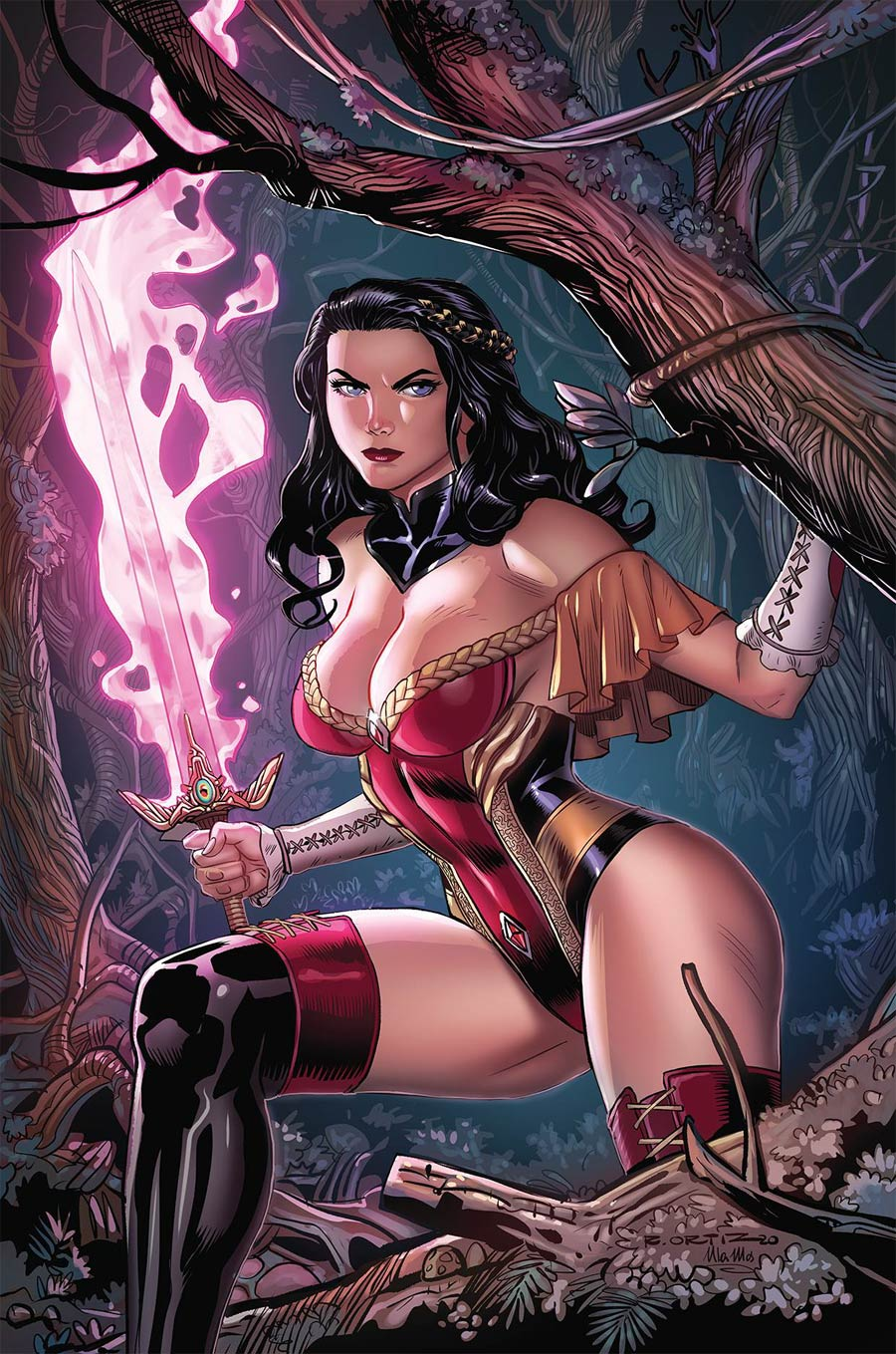 Grimm Fairy Tales Vol 2 #46 Cover C Richard Ortiz